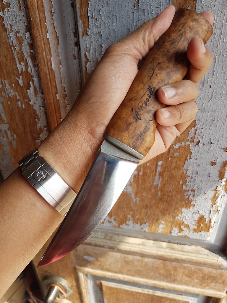 H  Roselli knives Roselli Wootz, UHC knives Heimo Roselli