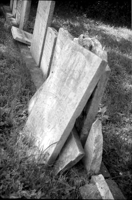 crumbling graveyard