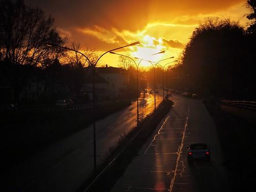 travel 2017 olympusomd paddybb omde1 germany deutschland clouds norddeutschland cityscape architektur hl sunset sunshine street schleswigholstein lübeck