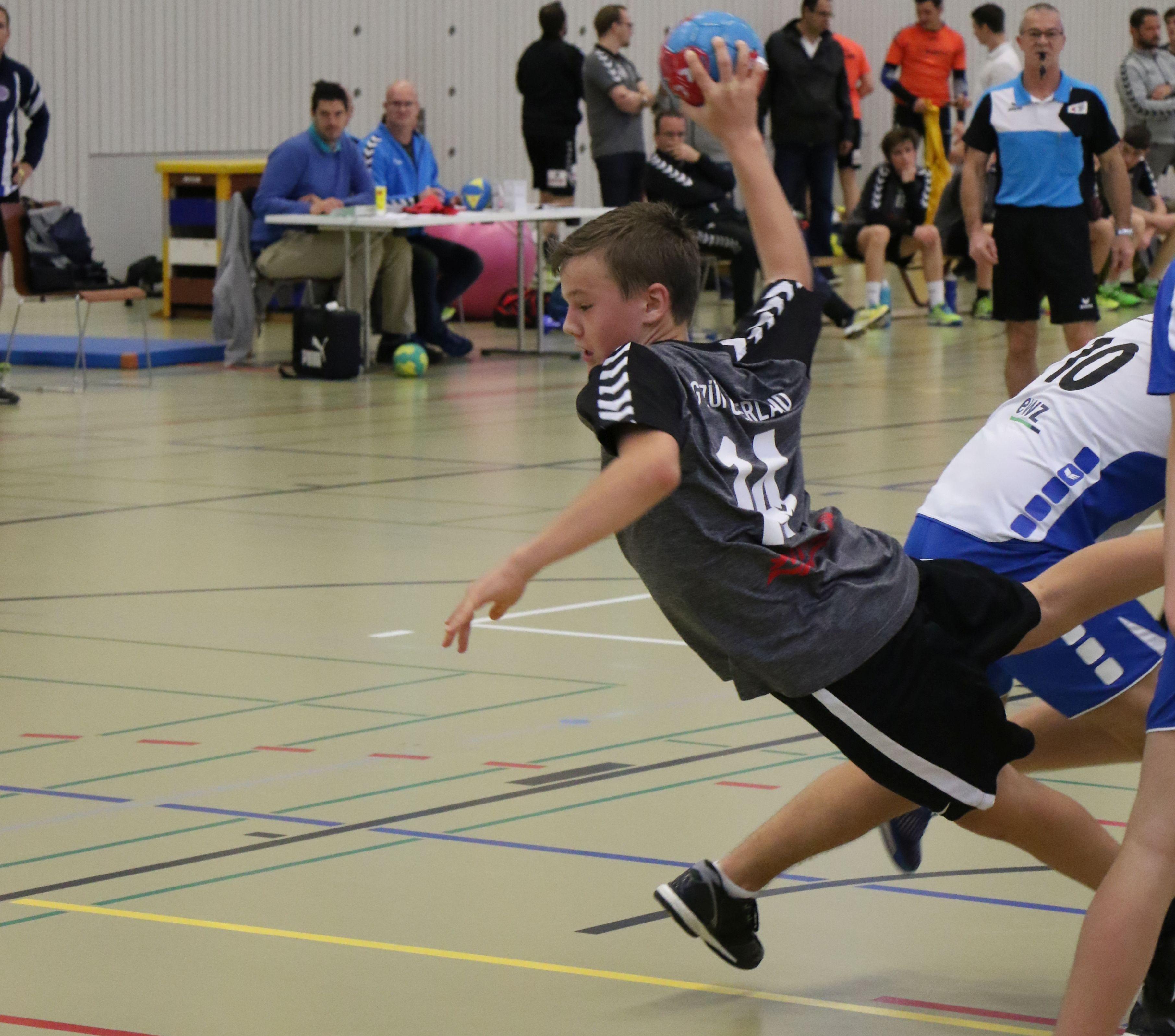 MU15 2017/11/25 - Schwamendingen Handball