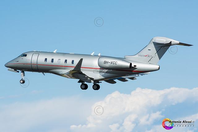 9H-VCC VistaJet Malta LIN