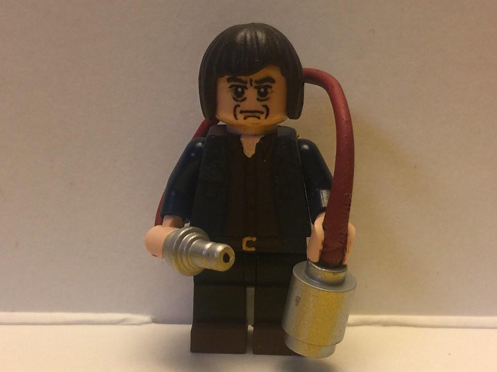 Please Hold Still Custom Lego Anton From No Country Flickr