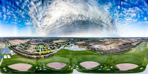 panorama waukeshacounty usa 2017 october dji mavic genesee wisconsin 360panorama unitedstates drone aerial djimavicpro mavicpro aerialphotography waukesha us