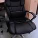 High back executive faux leather E150