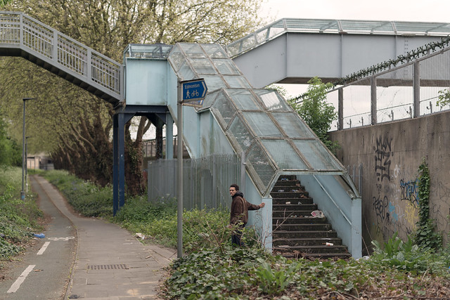 Leon near Tottenham Marshes