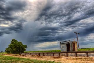 Rain Clouds at Coonawarra