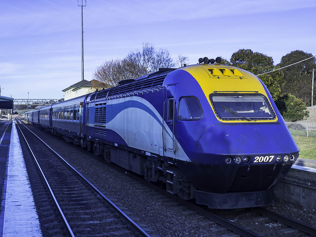 NSW Trainlink XPT XP2007 named