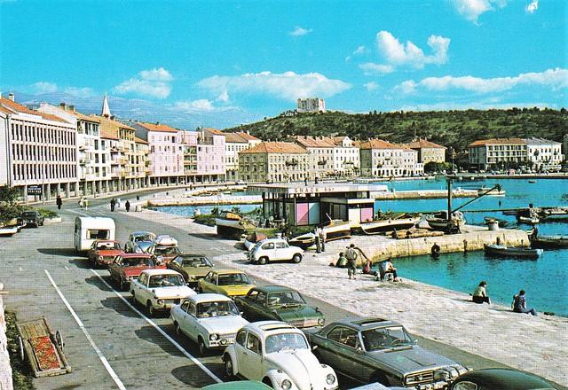 Postcard Hrvatska Senj Izdavač Vjesnik Zagreb 1975