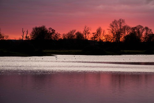 harroldodellcountrypark sunset reflections ngc coth5