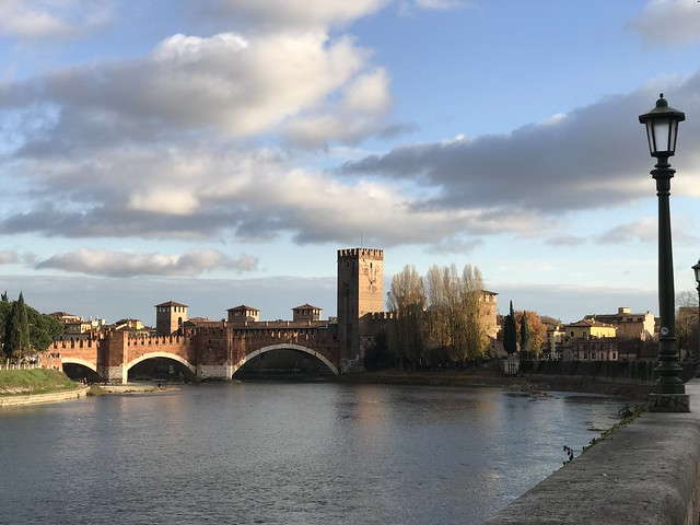 Verona is a very handsome city