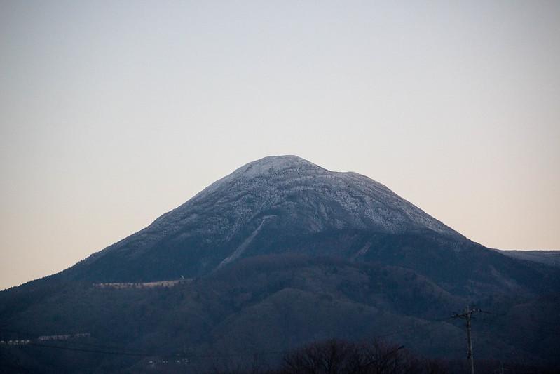 蓼科山 雪山登山