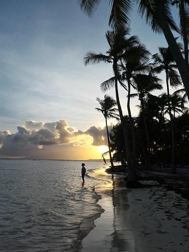 guadeloupe gwada sunset plage plaja beach boisjolan karukera nwn