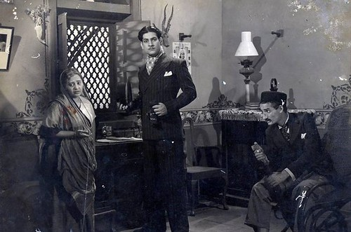 Gulab (Actress of 30s), Prem Adib & Jeevan-Station Master-1942