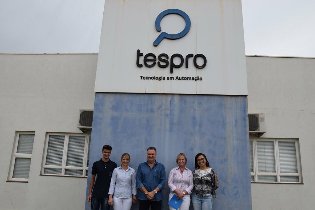 Visita à Tespro