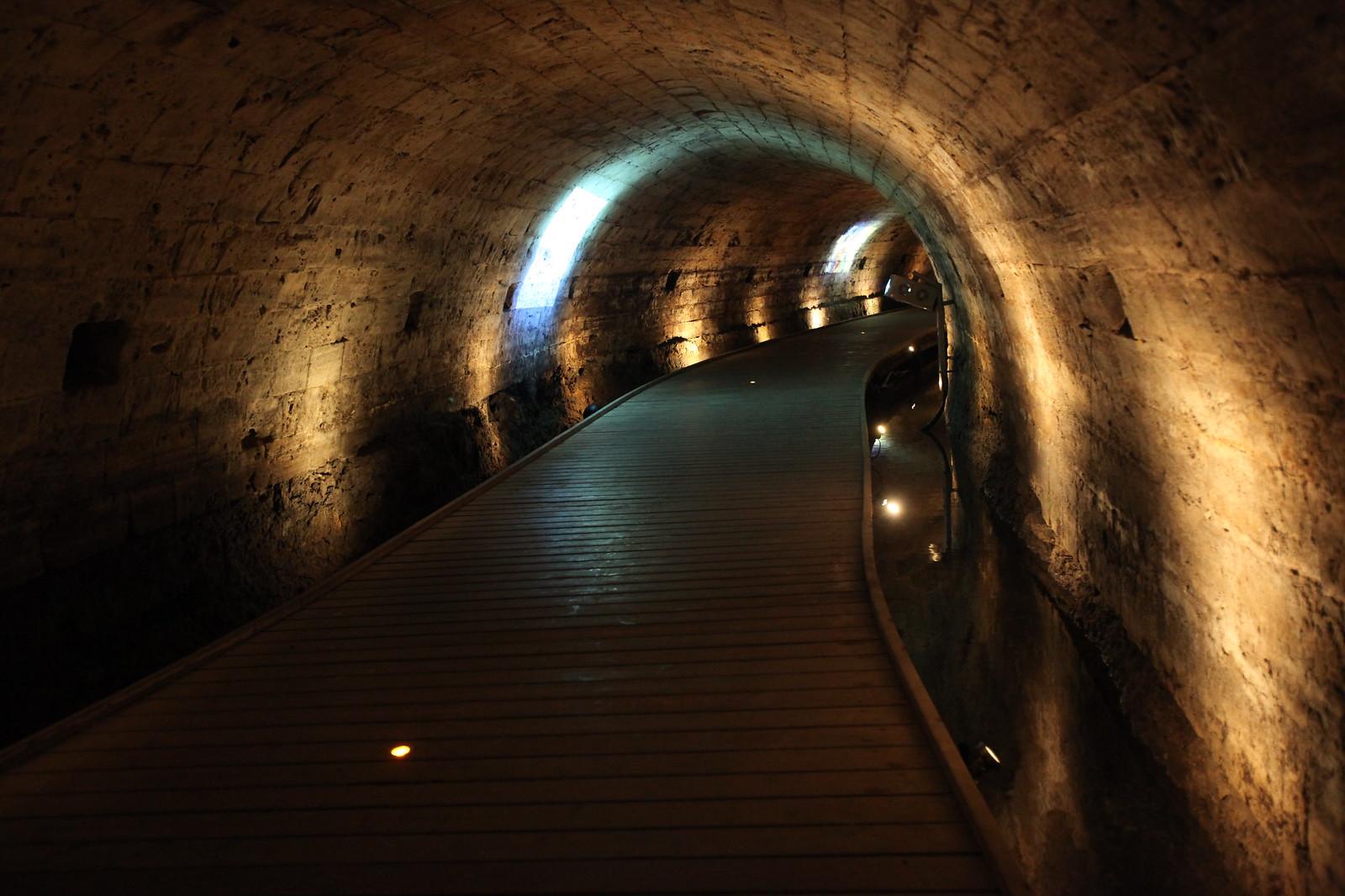 The Templars' tunnel in Akko_Alla Laitus_IMG 2499_IMOT