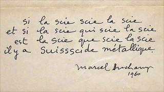 Citation De Marcel Duchamp Fondation Louis Vuitton Paris Flickr