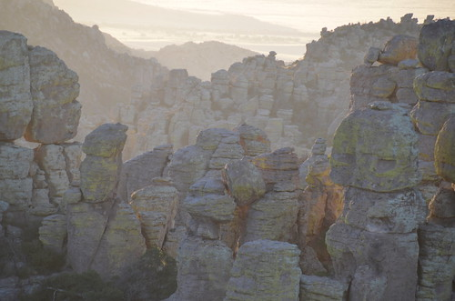 Chiricahua National Monument hoodoos at sunset | by Pierre Yeremian