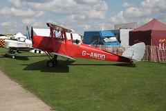 G-ANOO de Havilland DH-82A [85409] Sywell 010917