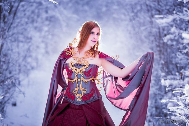 Myobie Cosplay - Outfit Morrigans Fairy