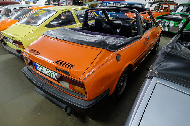 1986 Škoda 130 Rapid Convertible LDD Standard