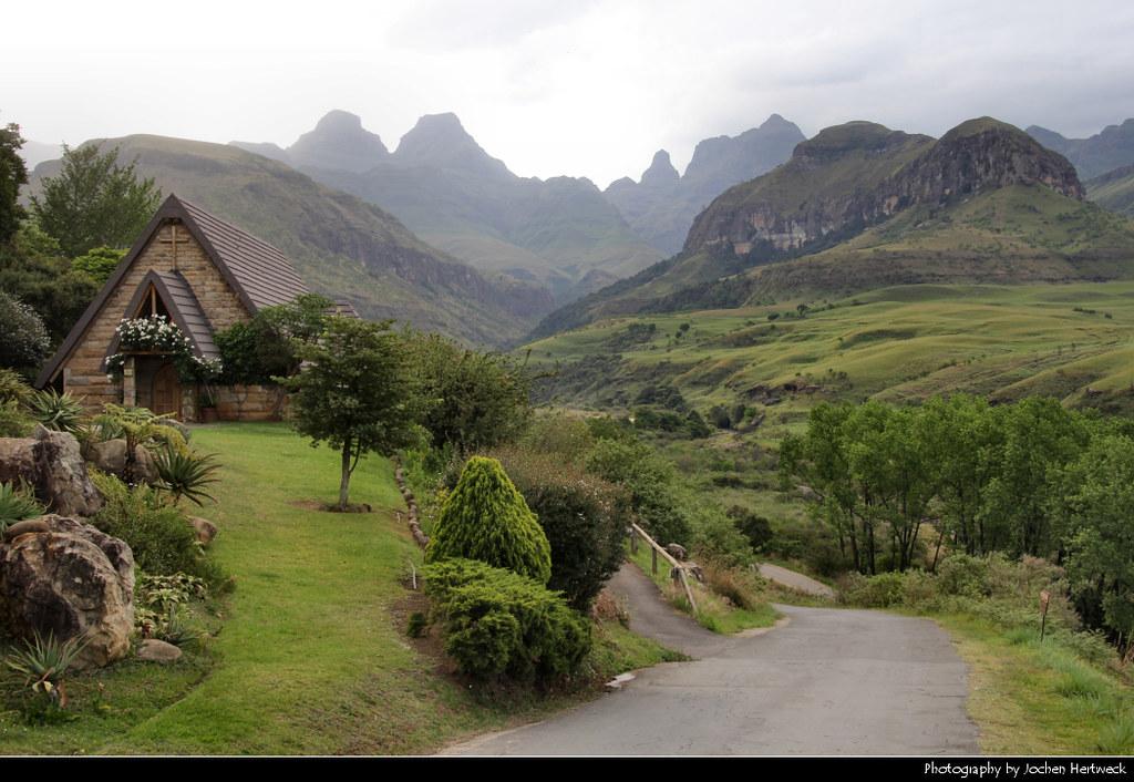 Cathedral Peak, Drakensberg, South Africa