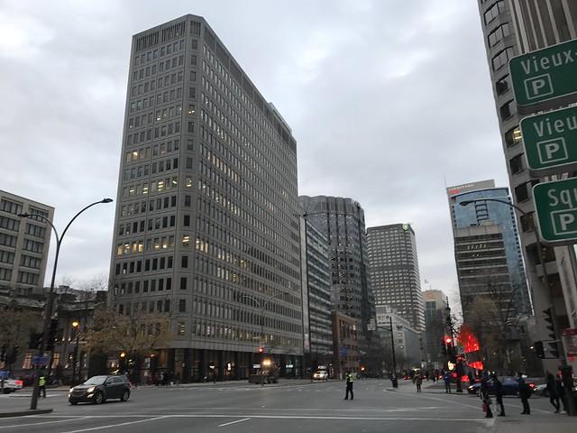les rues de Montréal