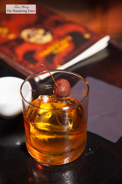 The Rocker - Whisky Aberlour A'bunadh, Figaro fig liqueur,