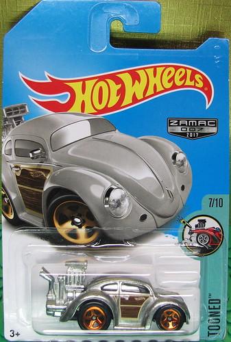 Hot Wheels 2018 - Volkswagen Beetle (Tooned) (Zamac) Photo