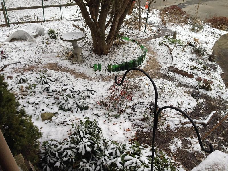 Mandala Garden in Winter