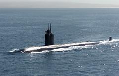 USS Asheville (SSN 758) file photo. (U.S. Navy)