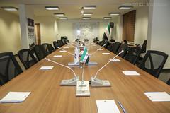 قبل بدء اجتماع الهيئة العامة - الدورة ٣٦