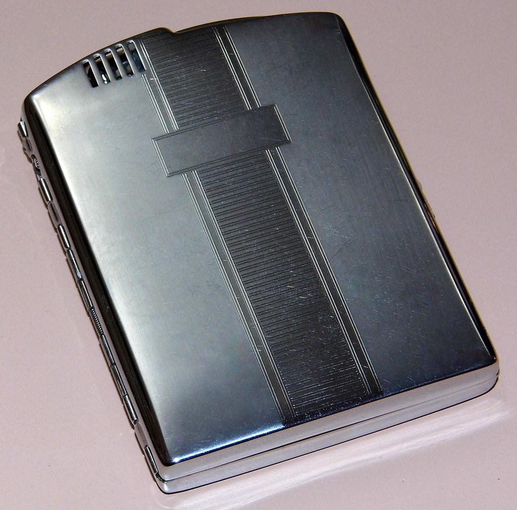 Vintage Ronson Combination Cigarette Lighter & Case, Appro… | Flickr