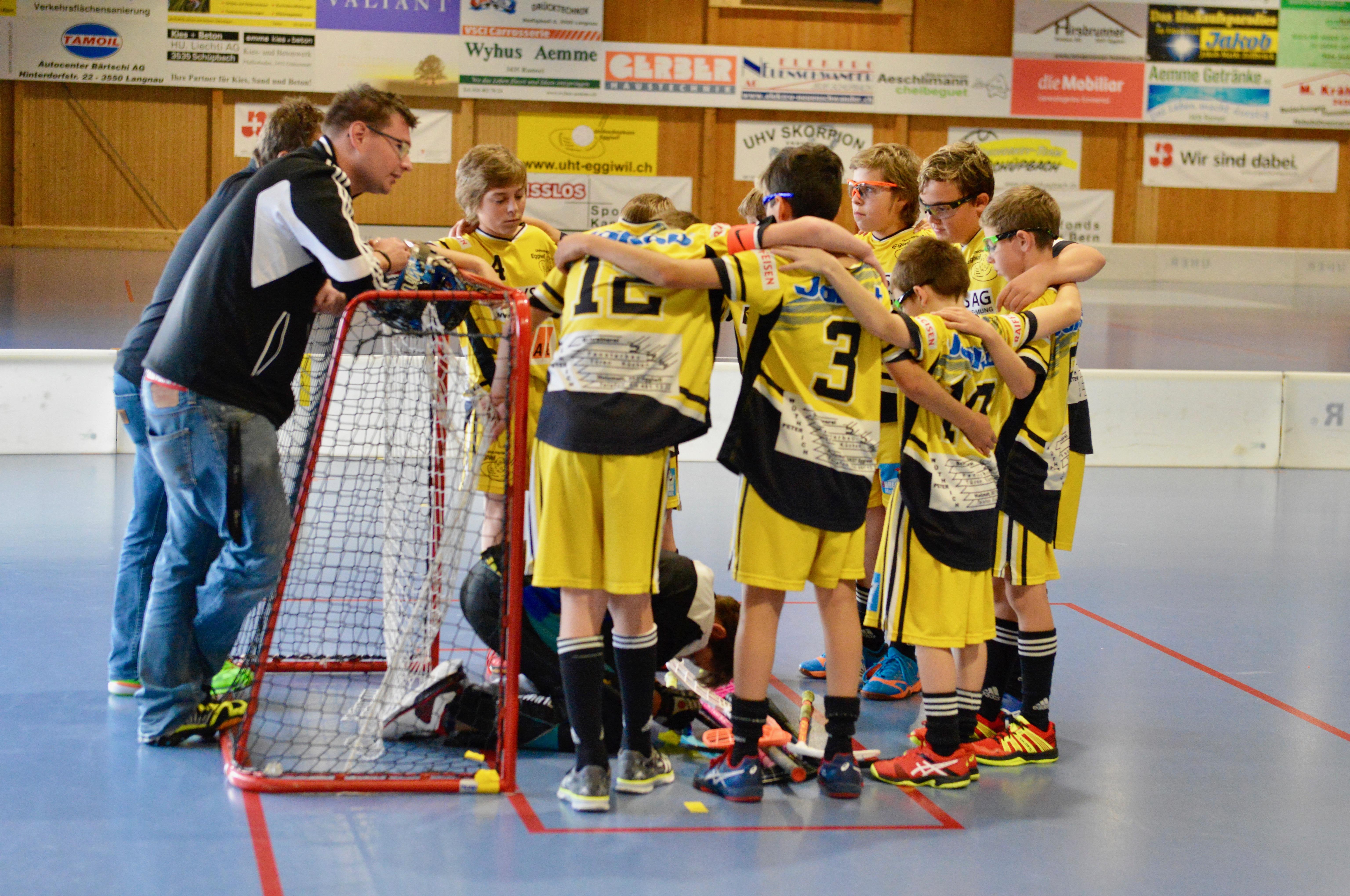Junioren C -  Unihockey Derendingen Saison 2017/18