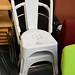 Metal bistro chair E95 new various colors