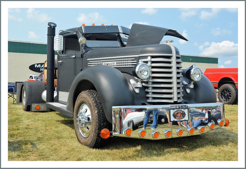 1946 Diamond T Truck The September 16 2017 Tecumseh Ididi Flickr