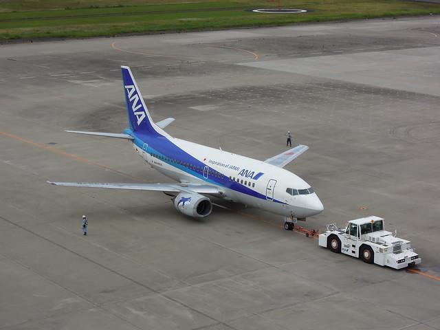 EH Boeing 737-500 JA357K