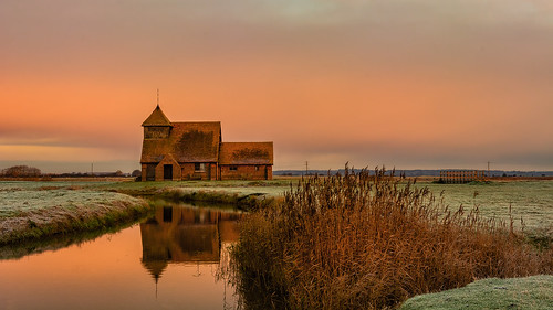 romneymarsh autumn architecture building countryside d7100 landscape nikon1755f28 reflection sunrise