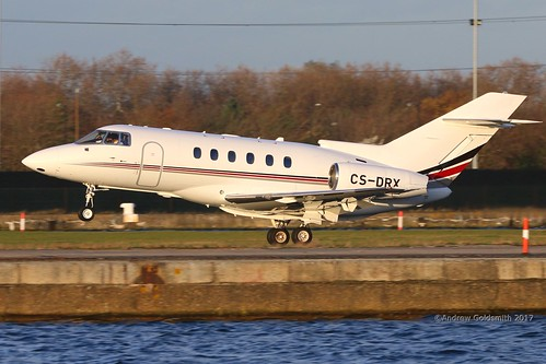 CS=DRX Hawker Beechcraft 125-800 London City 23-11-2017 0917 | by sickbag_andy