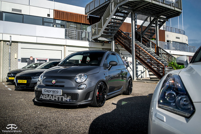Fiat 500 Abarth + Capristo exhaust