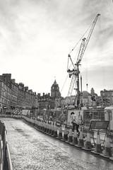 building site Edinburgh