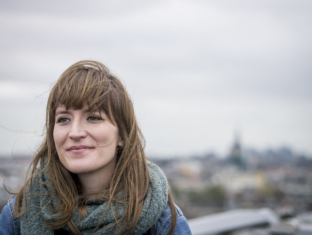 Marlene, Amsterdam 2017: High above her city