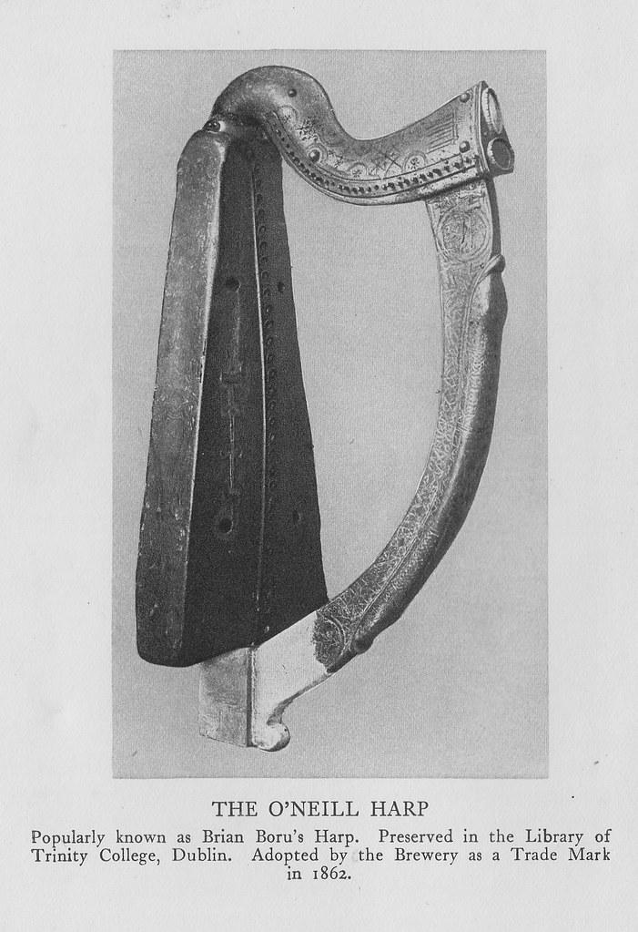 The O'Neill Harp as trade mark - Guinness history (1939