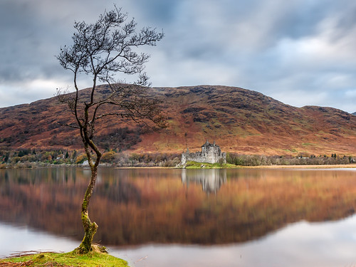 loch autumn awe 2017 scotland historic argyll reflections monadhdriseig kilchurn castle dalmally bute ruin unitedkingdom gb