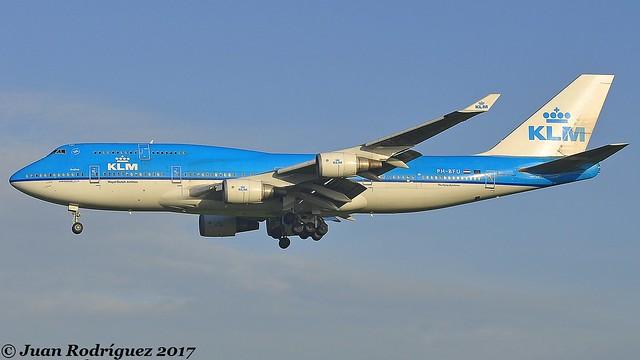 PH-BFU - KLM Royal Dutch Airlines - Boeing 747-406(M) - AMS/EHAM