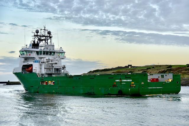 Havila Commander - Aberdeen Harbour Scotland 19/11/17