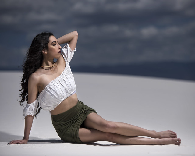 Alexis Shepherd at White Sands