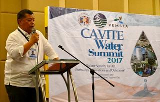 Second Cavite Water Summit, Tagatay, Philippines Nov 2017