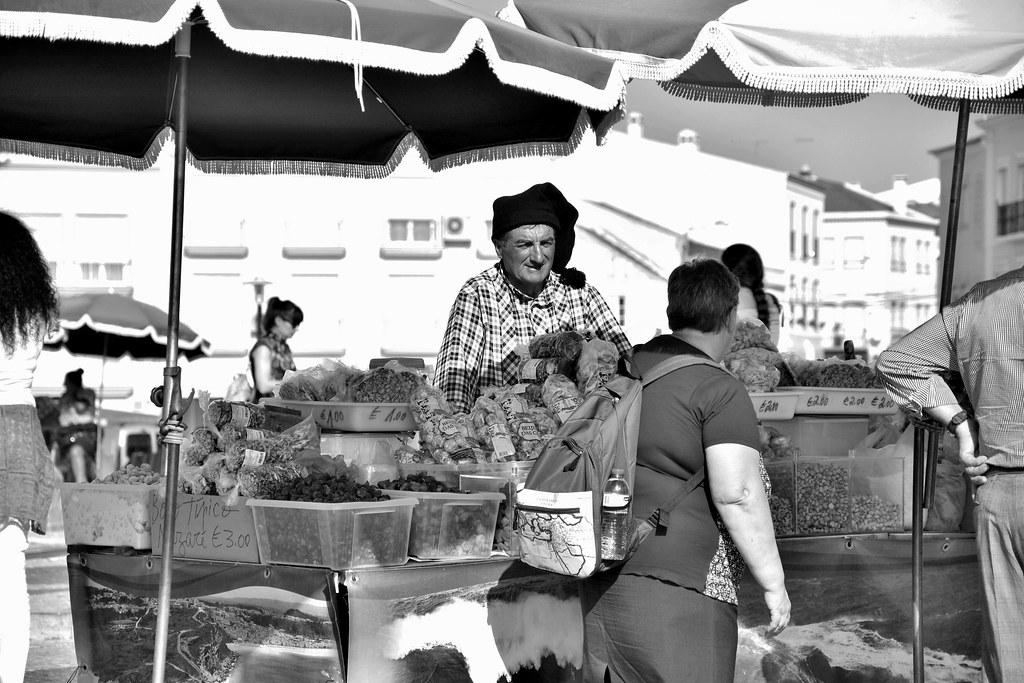 Bancarelle a Nazarè