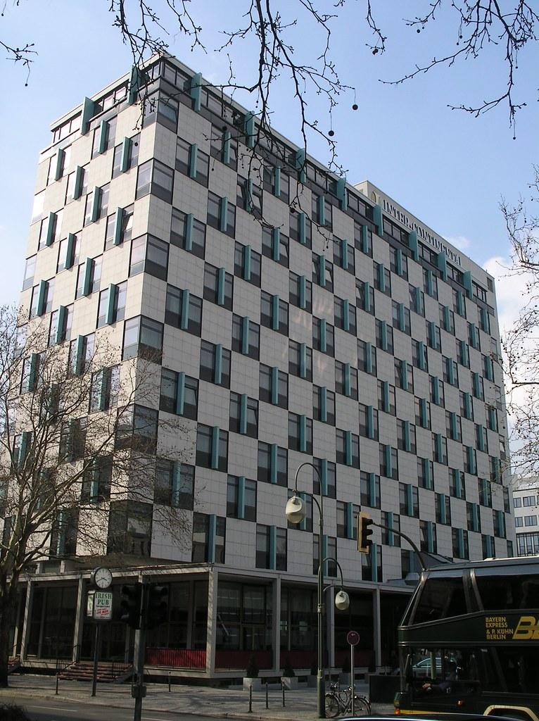 1957 60 Berlin W Hotel Hilton Von William Pereira Charles Flickr