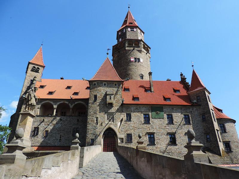 Bouzov Castle, Moravia, Czech Republic
